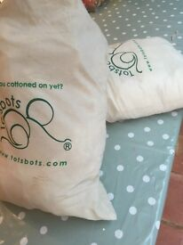 Brand new Totsbots reuseable birth to potty nappies