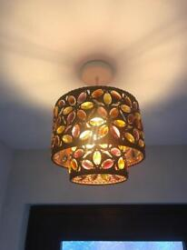 Retro style lamp shade, light fitting, from NEXT HOME