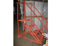 ALL MOBILE STEPS WANTED!! CASH PAID! (PALLET RACKING , STORAGE )