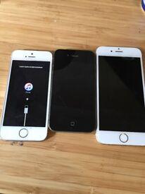 I phone 4 5s 6