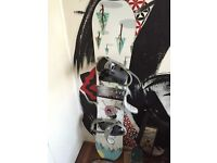 Salomon Salomonder Snowboard 2016 - 151 - with boots and bindings
