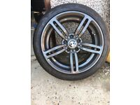 Wheels with alloys