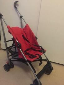 Stroller / pushchair / buggy with step board