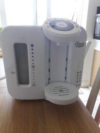 Tommee tipee perfect prep milk machine