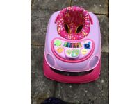 chicco baby walker for sale - pink