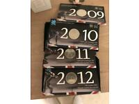 London 2012 £5 coin collection