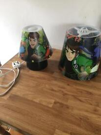 Ben 10 Lamp & Light Shade