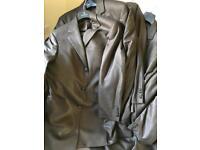 Men's brown wedding suits 23 jackets 20 trousers Masterhand ex hire