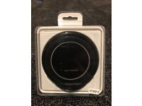 Fast QI Wireless Charger Stand Dock Pad Black