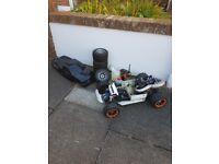 1/5 scale buggy 26cc 2stroke