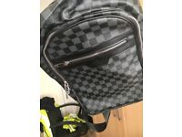 Louis Vuitton travel backpack