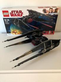 Star Wars Lego Kylo Ren TIE Fighter - the last jedi