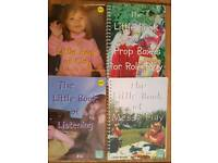 The little book of ... Set of 4 Kids Activity Books