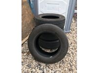 Set Of 4 CONTINENTAL CROSS CONTACT TYRES
