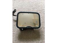 Baby adjustable car mirror
