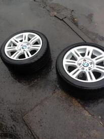 2 -3series m sport wheels