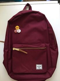 Hershel Bag Burgundy - Brand New -50%
