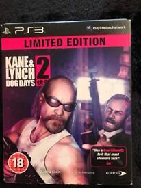 PS3 Game Kane & Lynch