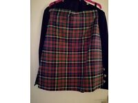Kilt outfit - excellent condition. Kilt, bonnie prince charlie jacket and waistcoat. Hardly worn