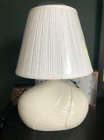 Beautiful Belleek Wave Table Lamp