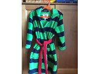 Little Joules Fleece Dressing Gown Age 3-4