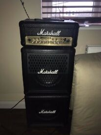 Marshall Dave Mustaine Megastack Guitar Amp Head And Cabinets