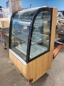 "30"" pastry refrigerated display case"