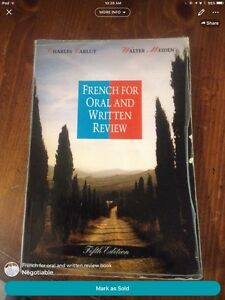 French for Oral and Written Review Textbook