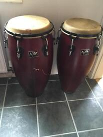 Afro conga drums