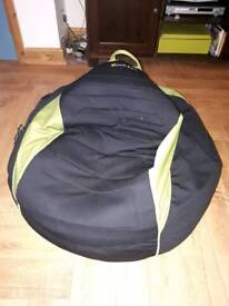 Bean bag with build in speakers