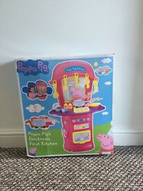 Peppa Pig Electrinic First Kitchen