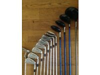 Mizuno irons,hybrids,3wood,Callaway driver and loads more