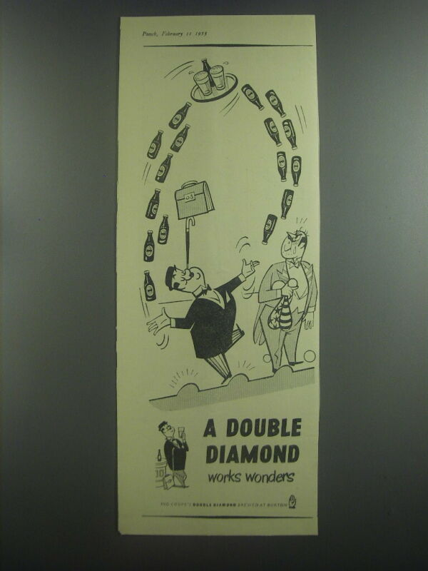 1953 Double Diamond Beer Advertisement