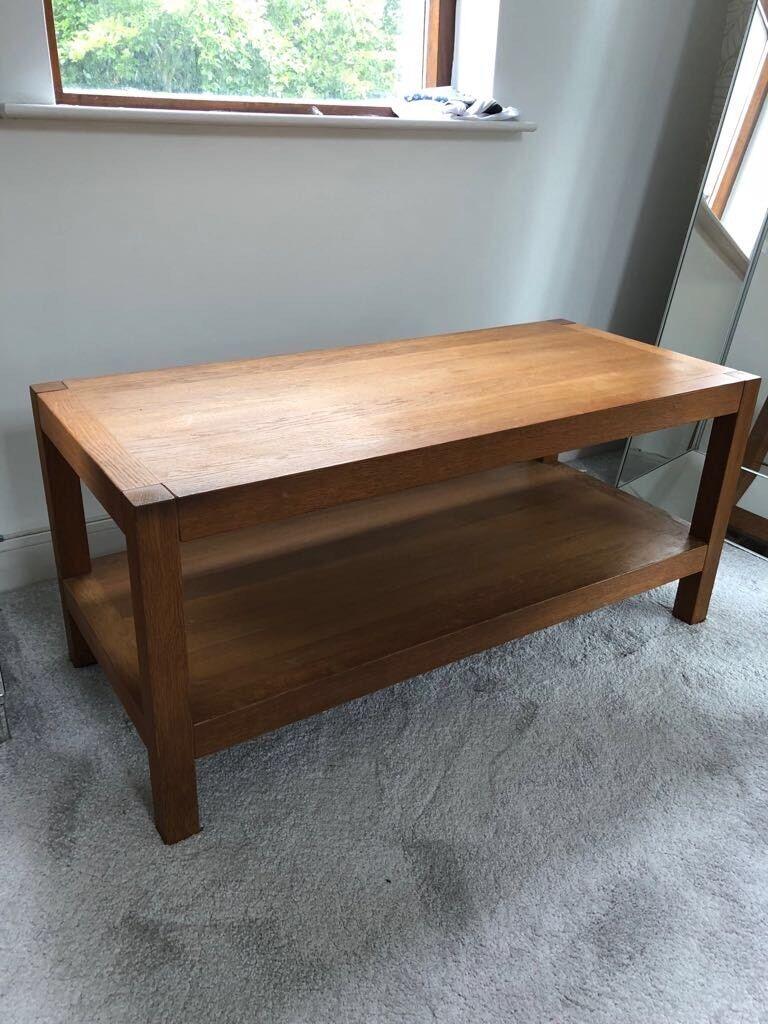 Laura Ashley Brompton Oak Coffee Table Cost 420