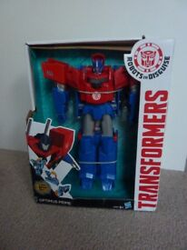 Brand New Boxed Transformers 3 Step Hyper Change Optimus Prime