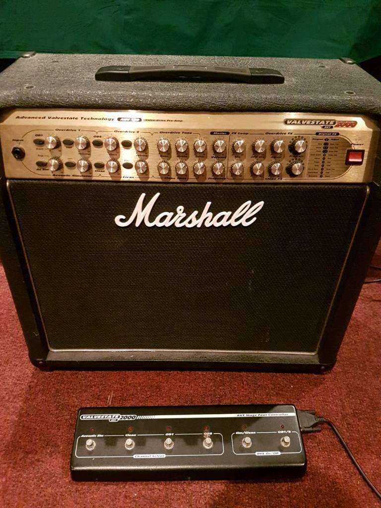 Marshall AVT150 Valvestate Guitar Amplifier