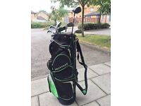 Golf sets (Driver, 3 woods, 7 irons, 2 wedges) + Trolley
