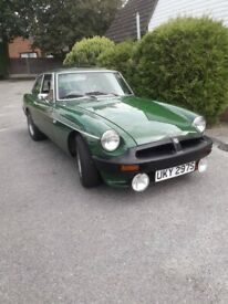 image for MGB GT, 1977, 1950 (cc) Recently Recommisioned, New MOT