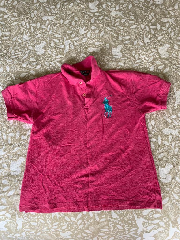 Ralph Lauren Pink Polo Shirt In Taunton Somerset Gumtree