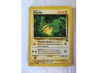 Rare Pikachu Pokemon Card