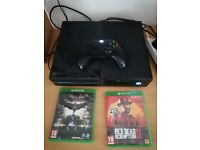 Good as new 500gb xbox one with 1 controller and 2 games