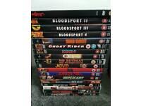 Jean Claude van damme 36 DVD'S