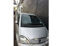 MERCEDES A140 ELEGANCE SILVER for parts