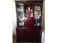 Morris of Glasgow Display Cabinet (Contents Not included).