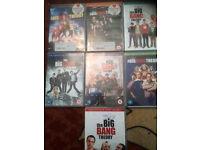 The Big Bang Theory: Season 1-7 [DVD]