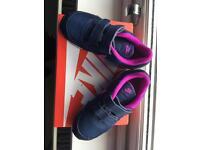 Nike Girls Trainers Size 9.5 U.K.