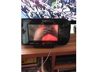 Wii u with games