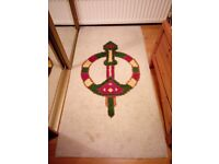 Celtic design rug