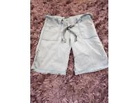 For sale ladies denim shorts size 14 by next