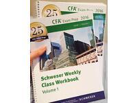 CFA Schweser Weekly Workbook - Level 1